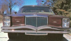 The bow-tie bumper and overall blocky styling contrived to hide the Cadillac origins.