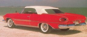 The Polara featured interesting reverse-slant fins.