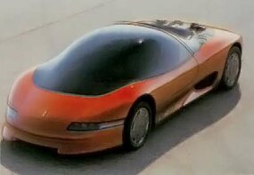 The 1985 Wildcat concept car had bold futuristic styling.
