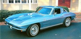 The Sting Ray coupe complemented the traditional convertible.