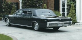 Among the options found on this 1967 Lincoln Limousine is a two-inch raise in roof height.