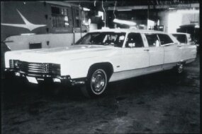 The final Lehmann-Peterson limousines were made in 1970 from the new body-on-frame Continental.