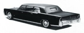 For 1964, its first full year, Lehmann-Peterson ran off 15 Lincoln Continental Executive Limousines.