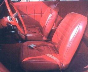 A-100 van seats were a popular choice for Super Stock cars.
