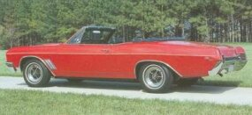 At $3,167 to start, the convertible was the costliest 1967 Buick Gran Sport.