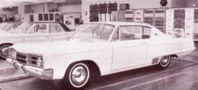 The center grille section ordained for 1967's Monacos and 500s can be seen in this model, too.