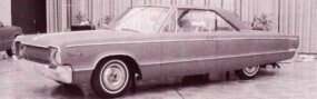 Another circa January 1963 big Dodge concept option.