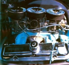 The Catalina carried a powerful 421-cid engine.