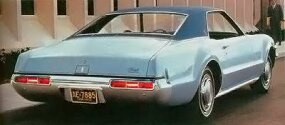 The Toronado's rear deck was freshened up for 1969.
