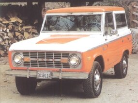 The wagon was the lone Bronco model for 1973; it sold 21,894 copies.