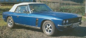 The 1991 Jensen Interceptor Mark IV -- or Series 4 or S4 -- looked amazingly like the 1966 Mark I.