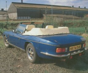 The 1991 Jensen Interceptor Mark IV was a testament to the lightness of the original Mark I design.