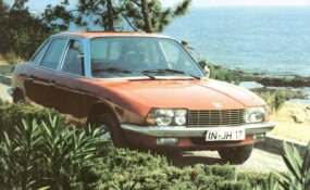 This 1974 test car shows styling was virtually unchanged throughout the NSU Ro80's 10-year production run.