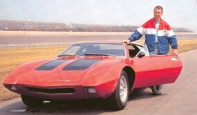 Mark Donahue, who had been winning Trans-Am races in factory Javelins, was pleased with the fast and shapely AMX/3.