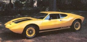 The AMX/3 was proposed as a limited-edition $10,000 replacement for the rather conventional AMC Javelin pony car. But just six AMX/3s were built.