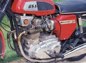 The potent 750-c triple produced 58 horsepower.
