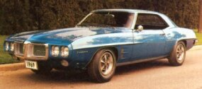 The 1969 Pontiac Firebird restyling was not appreciated by many Firebird fans.