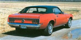 The 1969 Ford Mustang Grande could be ordered with anything from a 200-cid six to the 428 Cobra-Jet.