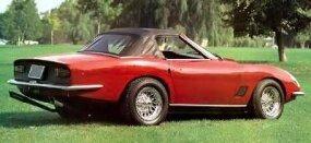 The 1969 Italia Spider was created with the driver in mind.