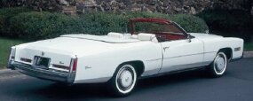 "Cadillac produced a limited number of the 1976 Cadillac Eldorado, which was originally billed as its ""last convertible."""