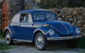 VW introduced the Super Beetle in 1971. Its front suspension made more room for luggage and a convex windshield helped the cabin feel larger.