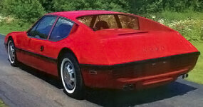 The NART Zagato's ambitious design included this 'hump back' look.