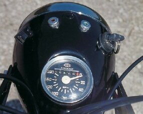 "The speedometer needle's movement was ""reversed."""