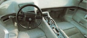 The interior of the Aerovette was more fully engineered than that of most concept cars.