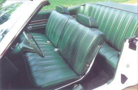Vinyl interior was one of the LTD's standard options.
