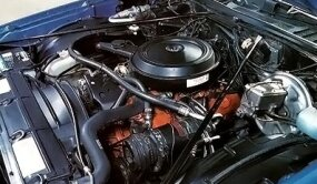 The Chevelle engine was detuned to run on low lead fuel.