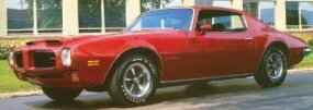 Equipped with an SD-455 engine, the 1973 Firebird Formula accelerated to 60 miles per hour in under six seconds.