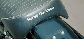 A sign of the times: The 1975 Harley-Davidson