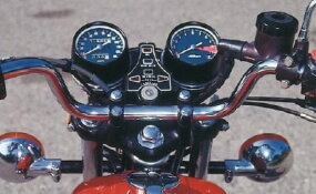Small but willing, the CB400's four redlined at an ambitious 10,000 rpm.