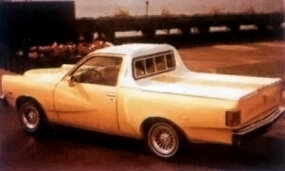 The Cabalero pickup was based on the Chevette.