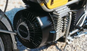 The Sachs rotary carried a large fan up front.