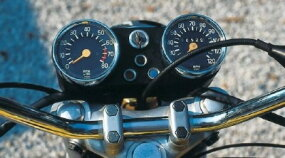 Despite its unorthodox power source, the 1976 Hercules W2000 used conventional gauges.