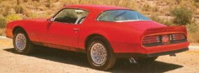 The 1977 Pontiac Firebird Formula could be ordered with a bold graphics package for an additional $127.