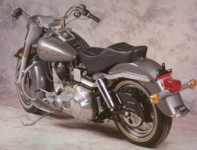 The Harley-Davidson FLHS Electra-Glide was reminiscent of classic FL models.