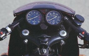 Clip-on handlebars were unique to the LeMans.