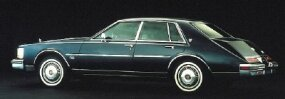 The 1980 Cadillac Seville's Oldsmobile-built engine was plagued with problems.