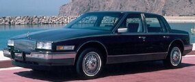 The 1986 Cadillac Seville sold poorly for a number of reasons.
