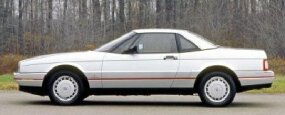Cadillac contracted with Pininfarina, Italy's famous coachbuilder, to design the body of the 1988 Cadillac Allante.