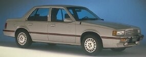 The 1988 Cadillac Cimarron was Cadillac's last; the model was discontinued after 1988.