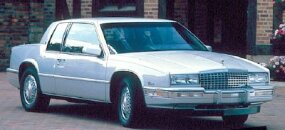 In an attempt to reestablish its identity, Cadillac restyled the 1988 Cadillac Eldorado.