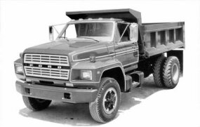 1980 medium-duty Ford truck