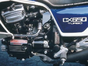 Th 1983 CX650T's turbocharged version of Honda's popular 650-cc V-twin had a robust 97 horsepower.