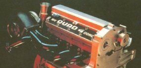 A toned-down version of the Aerotech I's Quad 4 engine later appeared in production Olds models.