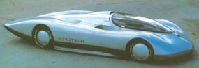 The Long Tail version of the Aerotech I set the 267-mph flying mile speed record in Texas.