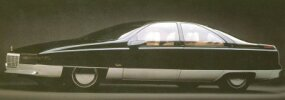 Cadillac's 1988 Voyage concept car was an auto-show star.