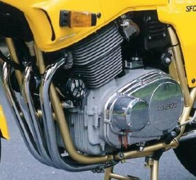 With the shift to a new crankshaft in the late 1970s, Laverda's triple gained smoothness and power.